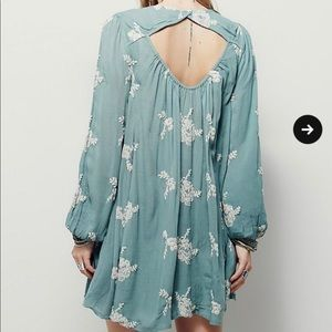 Free People Embroidered Flower dress